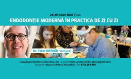 CURS FINALIZAT! Endodonție modernă în practica de zi cu zi